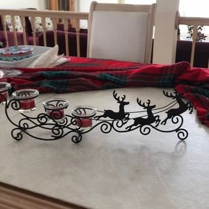 Accessories - Adorable reindeer sleigh tealite holder